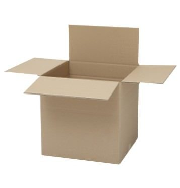medium open cube box