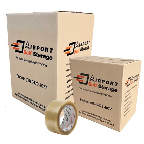 airport self storage boxes